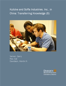 Picture of Kulicke and Soffa Industries, Inc., in China: Transferring Knowledge (B)