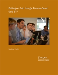 Picture of Betting on Gold Using a Futures-Based Gold ETF