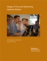 Picture of Design of Price and Advertising Elasticity Models