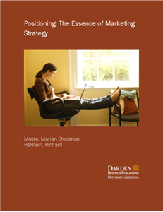 Picture of Positioning: The Essence of Marketing Strategy